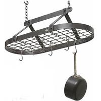 Enclume DR4 Review: Décor Oval Pot Rack with 12 Pot Hooks