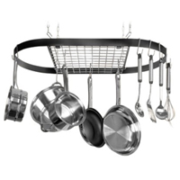 Innova 12021 Review: Classicor Wrought-Iron Oval Pot Rack
