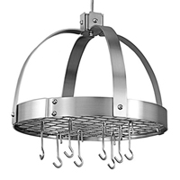 Old Dutch 102SN Review: Nickel Hanging Dome Pot Rack