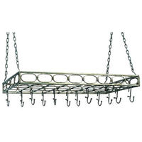 Old Dutch 105PW Review: Rectangular Antique Pewter Pot Rack