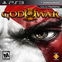 God of War 3 PS3 Exclusive Title Cover
