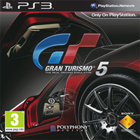 Gran Turismo 5 PS3 Exclusive Title Cover