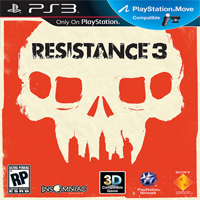 Resistance 3 PS3 Exclusive Title