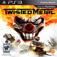 Twisted Metal 2012 PS3 Exclusive Game Cover
