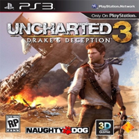 Uncharted 3 PS3 Exclusive Title Cover