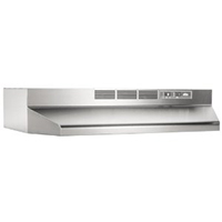 Broan 413004 Review: 30-Inch Economy 2-Speed Non-Ducted Range Hood in Stainless Steel