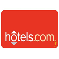 hotels.com Travel Website review and logo