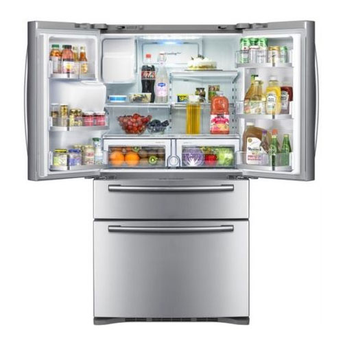 Samsung Rf4287hars French Door Refrigerator With Flexzone Drawer