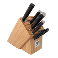 Shun DM2002B Review: Classic 6-Piece Knife Set with Bamboo Block