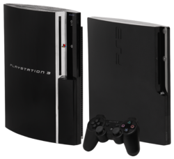 "The Old ""Fat"" PS3 Model Compared to the newer ""Slim"" model"