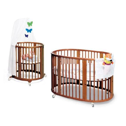 Cribs Come in a Variety of Styles, Shapes and Sizes