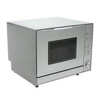 with a stylish silver finish and a square viewing window this edgestar portable countertop dishwasher goes for 446 for this moderate price however