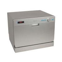 EdgeStar DWP61ES Review Silver Countertop Dishwasher with 6 Place ...