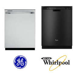Comparing Two Built-In Dishwashers: The GE GLD5868VSS vs. the Whirlpool WDF730PAYB