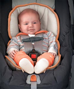 When on the go, Give your Arm a Break with a Light Car Seat
