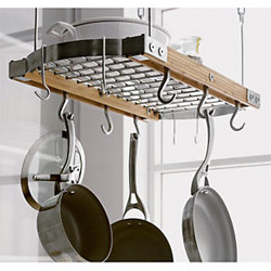 A Hanging Pot Rack Ideally Keeps Pots And Pans Within Easy Reach Above Your Head However You Ll Need To Consider The Height Of Ceiling Own
