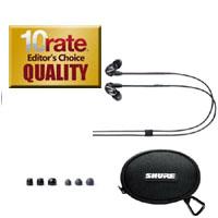 Shure SE215+Mic Earbuds