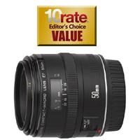 Canon EF 50mm Macro f/2.5 DSLR Camera Lens