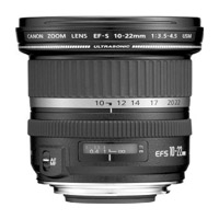Canon EF-S 10-22mm Wide Angle DSLR Lens