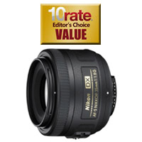 Nikon DX 35mm f/1.8 Prime DSLR Lens