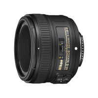 Nikon 50mm FX f/1.8 Prime DSLR Lens