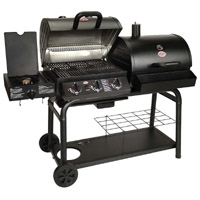 Char-Griller 5050 Duo Charcoal and Propane Gas Grill