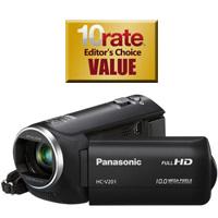 Panasonic HC-V201K HD Camcorder