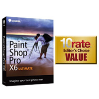 Corel Paintshop Pro X6 Ultimate Photo Editing Software
