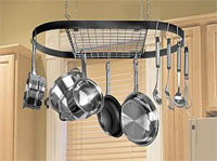 Kinetic Classicor 12021 Review: Hanging Wrought-Iron Pot Rack