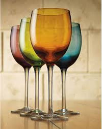 Tuscana 5655 Review: 4-Set Colored Wine Glasses