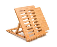 Lipper International Bamboo iPad Stand